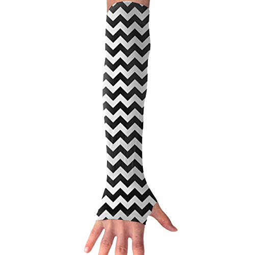 Men Women Black Lodge Twin Peaks Stylish Non Slip Arm Sleeves UV Protection Cooling Arm Warmer Long Sleeve Glove for Outdoor Sports Unisex -