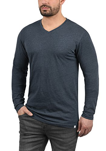 hombre larga Camiseta s manga de de xwaYqE1Yf
