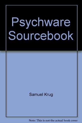 Psychware Sourcebook