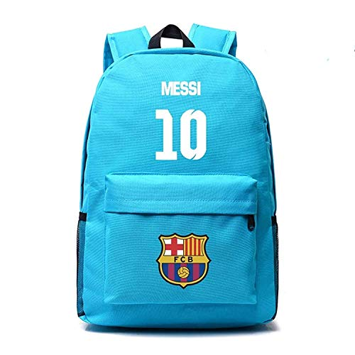 5c9302ca8f3e Kids Back to School Messi Backpack Barcelona Backpack Outdoor Travel Navy  Age10