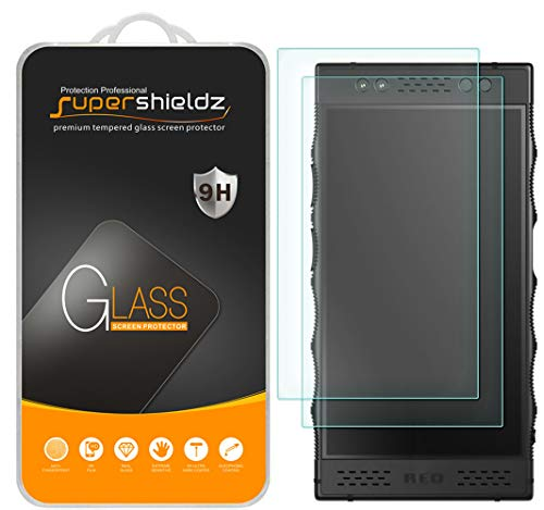 (2 Pack) Supershieldz for Red Hydrogen One Tempered Glass Screen Protector, Anti Scratch, Bubble Free ()