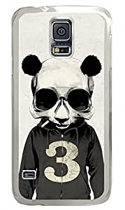Mr Panda Clear Hard Case Cover Skin For Samsung Galaxy S5 I9600Kimberly Kurzendoerfer