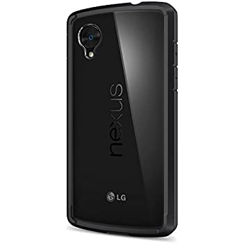 Spigen Ultra Hybrid Nexus 5 Case with Air Cushion Technology and Hybrid Drop Protection for Nexus 5 2013 - Black