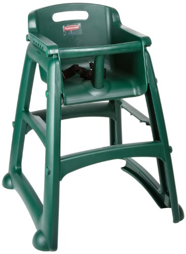 Rubbermaid Commercial Sturdy Chair Youth Seat High Chair,...