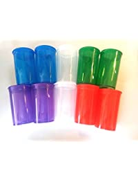 Want 10 Pack Multicolor 19 Dram Pop Top Bottle- Vial Medical Herb Pill Box Containers saleoff