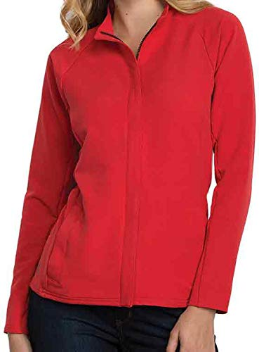 Antigua Women's Travel Golf Jacket (Cherry/Black, ()