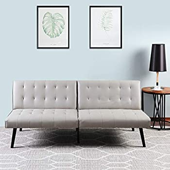 Amazon.com: DHP Emily Accent Chair, lino: Kitchen & Dining