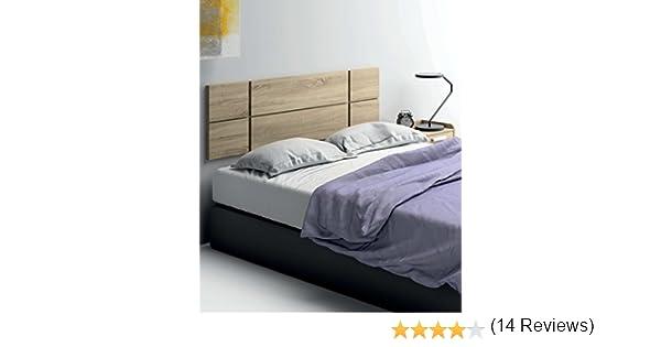 Cabezal cama de matrimonio de gran grosor 32MM, color cambrian con herrajes para colgar incluidos de dormitorio. 150cm ancho x grueso 32MM x 50cm altura: ...