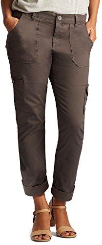 - LEE Women's Petite Modern Series Midrise Fit Brinley Cargo Pant, Iron, 14