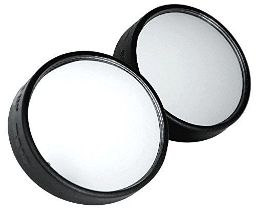 2 Pack 2inch Blind Spot Mirror- Driver/Passenger Side View And Rearview Adjustable Peel-Stick Mirrors - Round