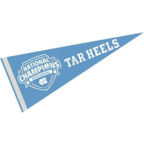 UNC Tar Heels 2017 Men's Basketball Champions (National Champions Pennant)
