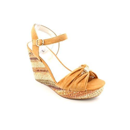 Alfani Jersey Femmes Sandales Compensées Chaussures Beige