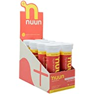 Nuun Hydration: Electrolyte Drink Tablets, Citrus Fruit, Box of 8 Tubes (80 servings), to Recover Essential Electrolytes Lost Through Sweat
