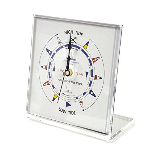Neptune Classic Dial Square Standing Tide Clock - Acrylic TC 1010 C - ACR 150 x 150mm