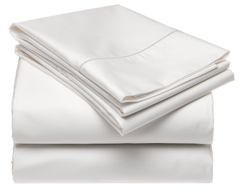 Renaissance 600-Thread-Count Cotton Sateen Queen Sheet Set, - Collection 600 Thread Renaissance