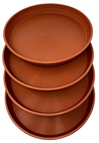 Matri Round Plastic Plant Saucer 9