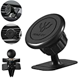 HIMIFOY Magnetic Phone Car Mount 2 in 1 Car Stick On Dashboard Universal Magnetic Phone Holder for Car and Air Vent Car Phone Mount for Smartphone More