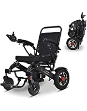 Culver Mobility Electric Power Wheelchair Scooter Fold Lightweight Folding Safe Electric Wheelchair Motorized FDA Approved Aviation Travel (Free Wheelchair RAMP Gift) [Amazon Exclusive]