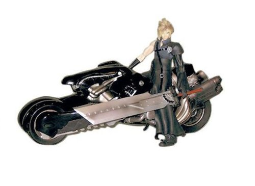 Cloud Strife Sword (Final Fantasy Advent Children Cloud Strife & Fenrir Motorcycle Action Figure Deluxe Set)