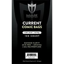 1000 Max Pro Comic Bags Current (Modern) Size (10 Packs of 100ct)