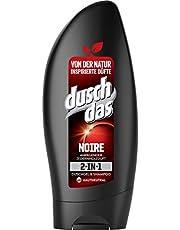 Duschdas 2-In-1 Douchegel & Shampoo, Voor Een Langdurige Geur Noire Dermatologisch, 8711700960663, 6X250 Ml