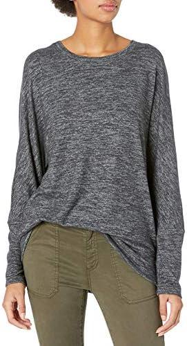 Amazon Brand - Daily Ritual Women's Cozy Knit Dolman Cuff Sweatshirt