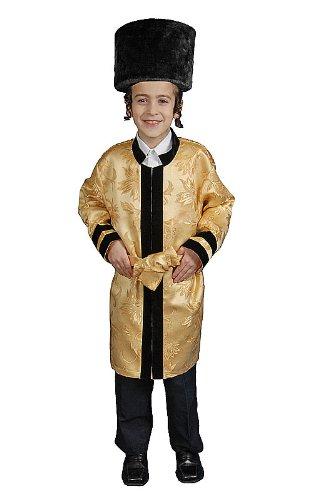 Jewish Rabbi Toddler Costumes (Jewish Grand Rabbi Robe Toddler Costume Size 2T)