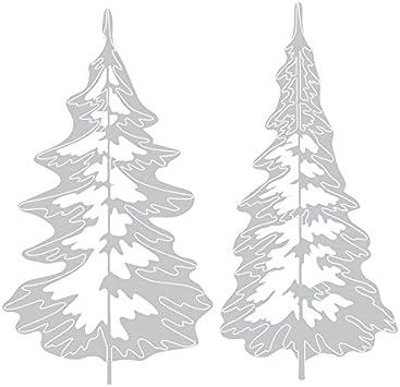Sizzix Thinlits Stanzen Set Stahl grau 0
