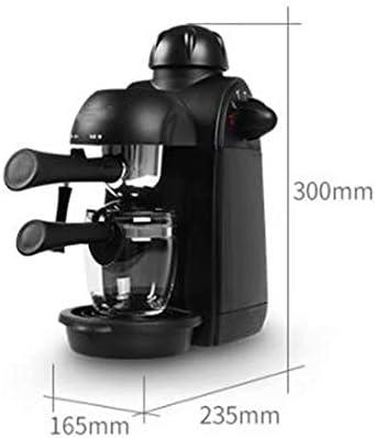 WY-coffee maker Mini cafetera Completamente Semi-automática Italiana Olla de moler cocinar Vapor pequeño, 240ML, 800W: Amazon.es: Hogar