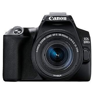 Canon EOS 200D II 24.1MP Digital SLR Camera + EF-S 18-55mm is STM Lens + EF-S 55-250mm is STM Lens (Black) 8