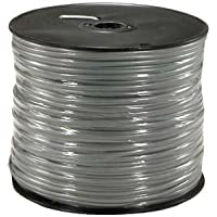 GadKo trade; 1000Ft 4 Conductor Silver Satin Modular Cable Reel 28AWG