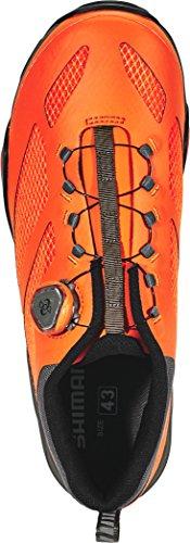 Shimano Sh-mt7 Scarpe Da Ciclismo Unisex Orange 2018 Spinning Shoes Mtb Shoes Orange