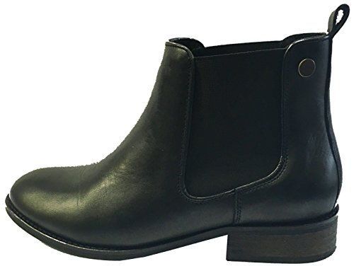 Ridge Sweet Gore Chelsea Black Womens Leather Boots Pqnx17Bzw