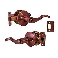 Constructor CON4246 Prelude Privacy Lever Door Lock, Antique Copper