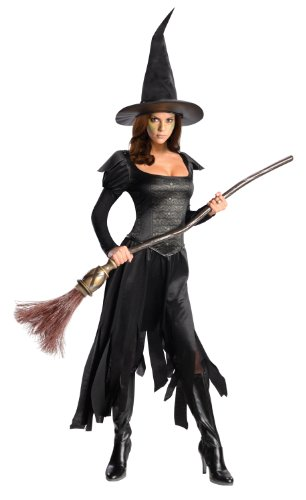 (Rubie's Costume Disney's Oz The Great and Powerful Adult Wicked Witch Of The West Dress and Hat, Black,)