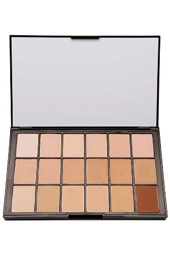 Ben Nye Mediapro Hd 18-color Sheer Foundation Palette - Ben Nye Palette
