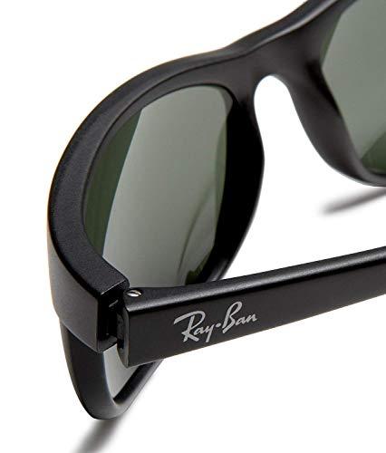 RAY BAN 2027 RB2027 W1847 62mm Predator 2 matte black with Green G-15XLT - Sunglasses Ban Ray Aviation