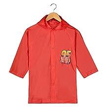 Disney Pixar Cars Lightning Mcqueen Boy's Red Rain Slicker medium 4/5