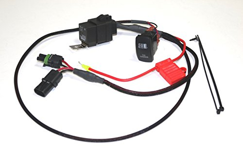 XTC Power Products Premium Polaris RZR XP 900/1000 Manual Fan Override Switch Kit