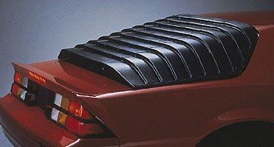 (Willpak Industries 1002 ABS Car Louver for Chevrolet/Pontiac/TransAm)
