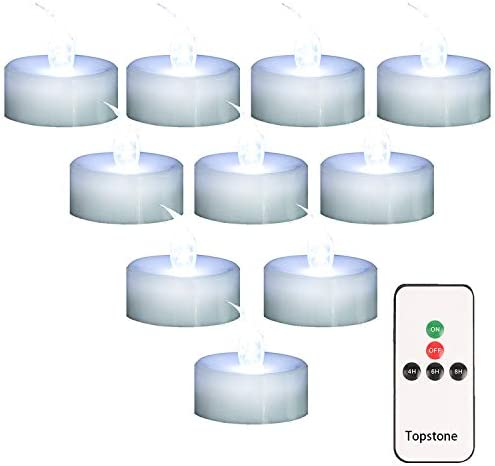 Untyo LED Candles Flameless Candles to Create a Warm Ambiance 48pack Flameless Tea Light Candles Batteries Included Naturally Flickering Bright Tealights,Battery Powered Candles,Unscented