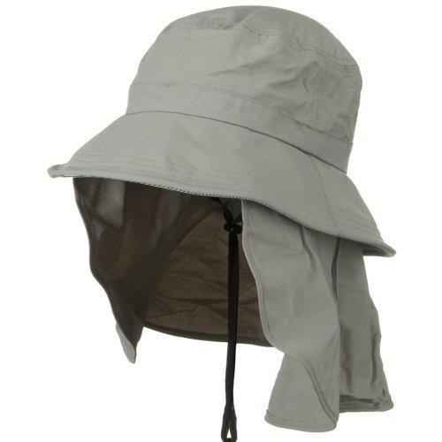 Juniper UV 50+ Talson Removable Flap UV Bucket Hat - Grey