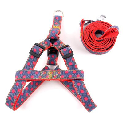 2 XL 2 XL Dog Chest Back, Dog Leash Dog Rope pet colorful Chest Strap pet Knitting Leash Dog Chain Chest Strap pet Vest Chest Back pet Leash pet Supplies (color   2, Size   XL)