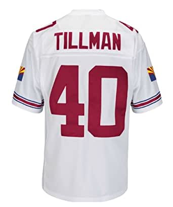 Pat Tillman Arizona Cardinals White Stitched Throwback Jersey XX-Large