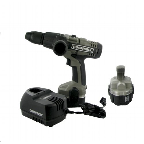 Rockwell RK2808K2 Compack Pro 18 Volt Cordless Hammer Drill
