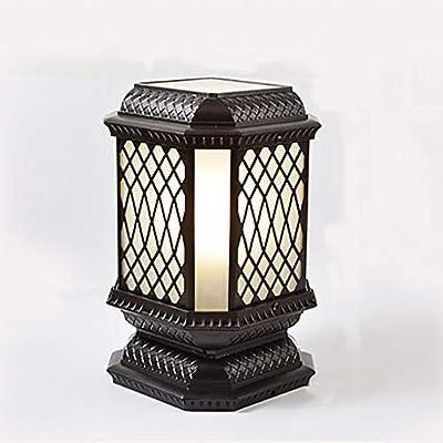 YXWzda Lámparas de Escritorio Lámpara Exterior LED de Hierro ...