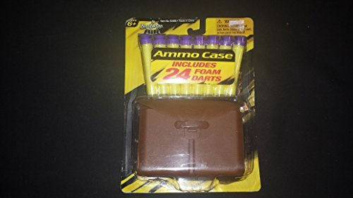 BuzzBee Ammo Case 24 Suction Foam Darts by Air Warrior