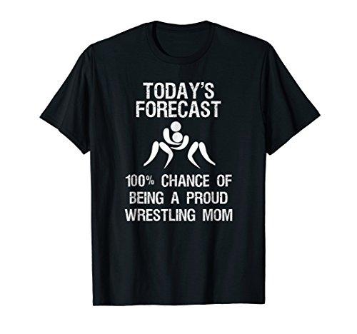 Wrestling Mom Shirt - Funny Proud Wrestler Mom ()