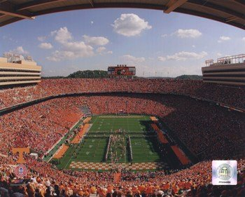 Neyland Stadium University of Tennessee Volunteers; 2007 Photo Print ()