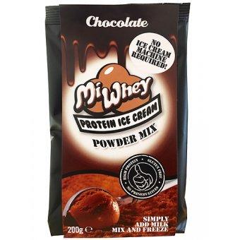 Helado de Proteina LowCarb MiWhey Chocolate 200 g: Amazon.es: Alimentación y bebidas